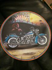 Easyriders Revival Of An Era Collectors Plate w/hanger & cert by Marc Lacourcier