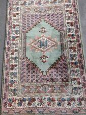 Handmade Pakistani Wool Rug 3.5x5.3 ft