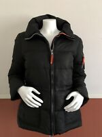 MARC NEW YORK WOMENS WINTER JACKET,POCKETS,ZIP,INTERIOR POCKETS SIZE M COLOR BLA