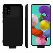 Portable Charging Battery Case Power Bank 5000mAh Samsung Galaxy A71 5G Black
