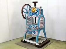 Oba Foundry Shaved Ice Machine Showa Retro Ice Slicer W500 x D330 x H750 mm
