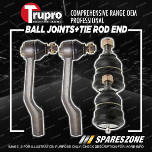 Trupro Ball Joint Tie Rod End Kit for Mazda Tribute CT CU YU Wagon 2/2001-1/2008