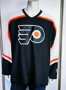 Adult NHL Koho Philadelphia Flyers Jersey Maska Air Knit Real Crest sz  XL