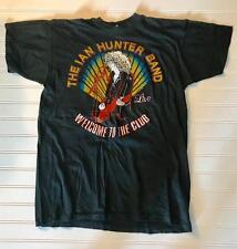 IAN HUNTER 1980 TOUR T-SHIRT MOTT THE HOOPLE MICK RONSON ORIGINAL SUPER Rare!