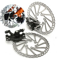 Mechanical Disc Brake MTB Cycling Bicycle Front Rear Caliper 160/180mm