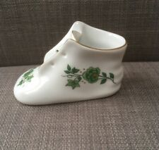 Hollohaza Pannonia Collection Handpainted Porcelain Shoe