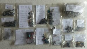 Job Lot of almost 500 Vintage 60's/70's Transistors and Diodes - most unused