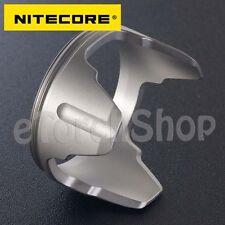 NiteCore 40mm Stainless Steel Bezel Flashlight Tactical Head F SRT7 P25 EC4 EC4S