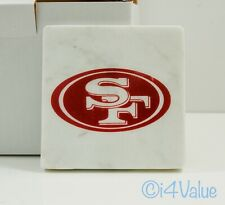 San Francisco 49ers Marble coasters x 4, new