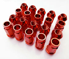 20PCS For HONDA ACURA JDM D1 Spec Wheel Lug Nuts M12 x 1.5mm CIVIC INTEGRA Red