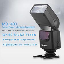 Selens 3s highSpeed GN40 Speedlite Flash Light for Canon 60D 70D Nikon D90 D7100