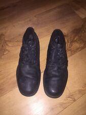 Rockport Adiprene By Adidas Black Leather Upper Boots Size US/8W UK/7.5 *C1