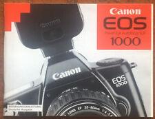Canon EOS 1000 - Anleitung von 1990