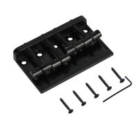 4 String Guitar Bridge for Fender Precison Jazz Bass 201B-4 Badass Black