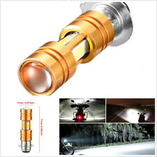 360° 30W P15D COB LED Motorcycle Headlight Hi/Lo Beam 6000-6500K White With Lens