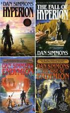 The Hyperion Cantos Series Paperback Collection Set Books 1-4 by Dan Simmons