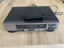 Hitachi Fx-6404 Vcr Player Hi Fi with Remote Tested Works!
