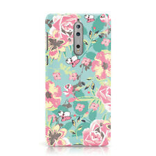 DYEFOR SHABBY CHIC FLOWERS/ROSES GIRLY PHONE CASE COVER FOR NOKIA