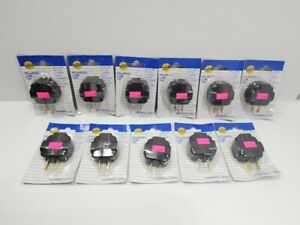 11-lot NEW SMIEC Polarized Cube Tap, 3-outlet Plug, Non Grounded #1046