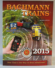 BACHMANN WILLIAMS 2015 TRAIN CATALOG n ho on30 o g scale trains accessories NEW