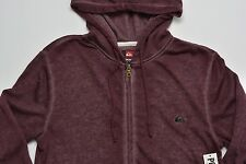 Men's QUIKSILVER Plum Purple Hooded Hoodie Sweater Small S NWT NEW Awesome!