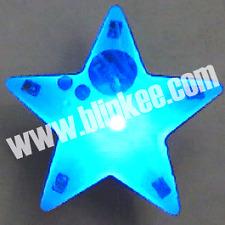 Turbo Star Flashing Magnetic LED Body Light Blinky Toy