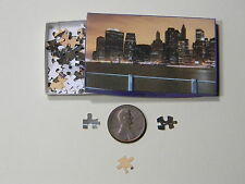 "Mini Jigsaw Puzzle 100 piece 1:12 ""City Lights"""