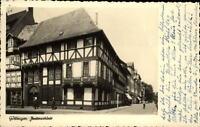 Göttingen Niedersachsen AK 1949 gelaufen Straßenpartie an der Jukernschänke