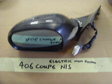 PEUGEOT 406 COUPE WING MIRROR  N/S