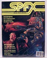 1995 SPFX Magazine # 3 RAY HARRYHAUSEN Robby Robot