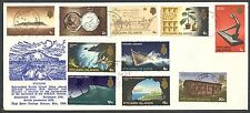 PITCAIRN IS 1969 SET TO 20c ON 1971 COVER (ID:175/PI39)
