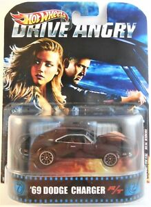 HOT WHEELS RETRO ENTERTAINMENT DRIVE ANGRY '69 DODGE CHARGER R/T CUSTOM