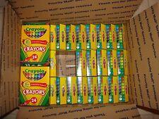 Crayola Crayons (30) 24 Count Boxes New Usa