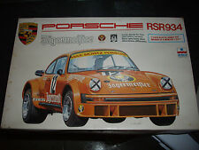 RARE ESCI PORSCHE RSR  934 JAGERMEISTER  1/24