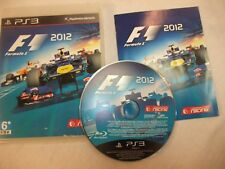 F1 2012 (Sony PlayStation 3, 2012) complete