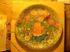 All Things Bright and Beautiful by Davenport Pottery Co. (Collector Plate 1986)