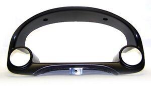 BLOX Racing Dual Gauge Pod Meter Cluster Bezel 52mm-60mm for 96-00 Honda Civic