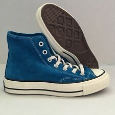 CONVERSE CHUCK TAYLOR ALL STAR 1970S BLUE SUEDE HIGH TOPS MEN SHOES 149442C