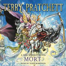 Mort: (Discworld Novel 4) by Terry Pratchett (3CD-Audiobook, 2004) Tony Robinson