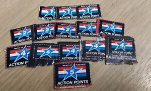 Vintage Action Force GI Joe Action Points collection retro 1980s Card Packaging