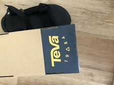 Original universal Uban Black size 9 men's sandals Teva
