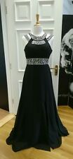 Black evening dress size 12