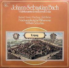 SEALED LP Bach Violin Concertos Hamann Kayser Blecher Schuchter EMI 1C 047-50802