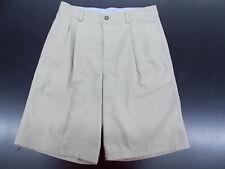 Boys Uniform/Casual Khaki Pleated Front Shorts Size 14 - 18