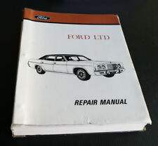 FORD LTD Genuine Factory Workshop Service Repair Manual 5.8 L Engine 351 WM19