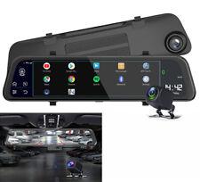 "11.66"" Car HD DVR Rearview Mirror ADAS Android 8.1 2GB+32GB w/ AHD Rear Camera"