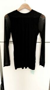 METALICUS MESH SLEEVE TOP  Size M/L