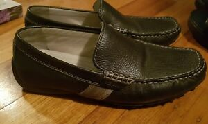 Geox U Snake Moc B Nappa Mens Leather Shoes / Moccasins - Brown Euro 39 or Aus 8