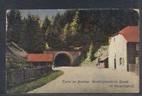 42903) AK Tunnel bei Bussang Deutsch-französische Grenze im Wesserlingtal 1916