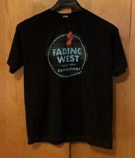 Switchfoot 2014 Fading West Tour XL Black Men's T Shirt